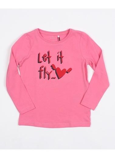 Name It Name it Kız Çocuk Baskılı Uzunkol SweaT-shirt Renkli